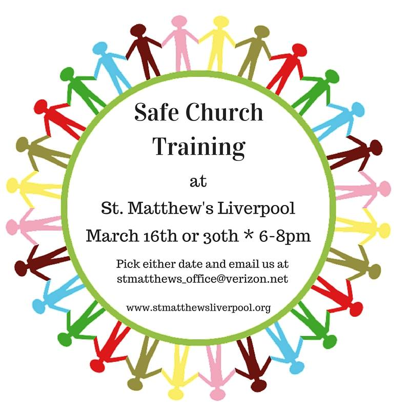 safe church training 2016